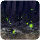 Firefly  3D LiveWallpaper icon