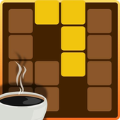 ~ Puzzle that fits coffee ~ Chocolate & Puzzle icon