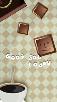 ~ Puzzle that fits coffee ~ Chocolate & Puzzle poster