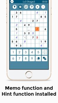Number Place 10000 - Free Classic Puzzle Game - screenshot 2