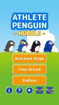 Athlete Penguin - Hurdle - apk screenshot