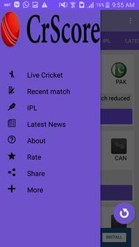 CricScore - Live cricket score screenshot 4