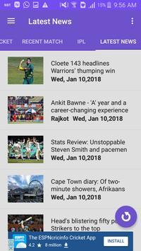 CricScore - Live cricket score screenshot 5