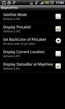 Map and Pins (CSV file viewer) screenshot 3