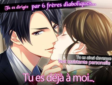Amour endiablé dating sim poster