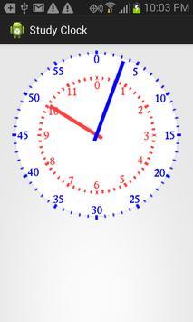 Study Clock Demo poster