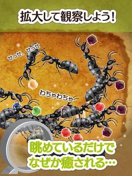 アリの巣コロニー ほのぼの放置観察育成ゲーム apk screenshot