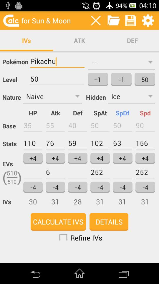 IVs & Damage Calculator for Android - APK Download
