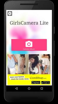 GirlsCamera Lite screenshot 1