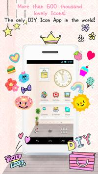 IconStyle kawaii icon themes poster