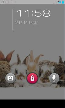 きせかえ壁紙☆ころころうさぎ apk screenshot