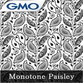 きせかえ壁紙☆Monotone Paisley icon