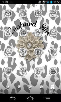 きせかえ壁紙☆Leopard Girl apk screenshot
