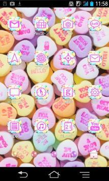 きせかえ壁紙☆Sweet candies with apk screenshot