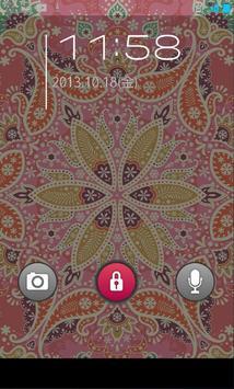 きせかえ壁紙☆Soft Pink Paisley apk screenshot