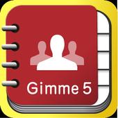GimmeFive Tel Book icon