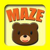 めいろ 知育アプリ(赤ちゃん、幼児、子供向け) icon