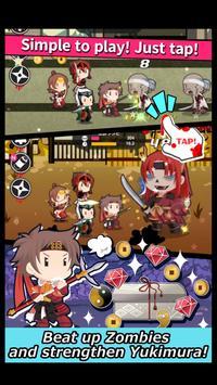 Sengoku of the Dead -TAP RPG- apk screenshot