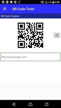 QR Code Tools - QR Scan / Create / Share screenshot 4