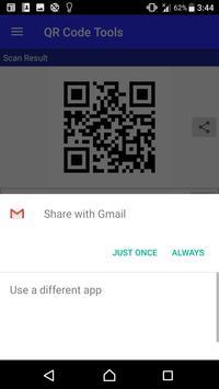 QR Code Tools - QR Scan / Create / Share screenshot 3