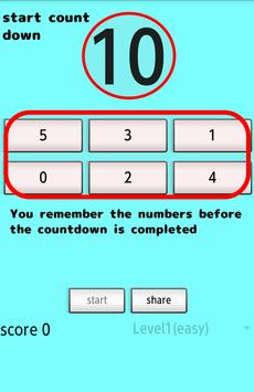 Memory Game(Brain Training) screenshot 1