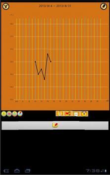 和鍼灸院式基礎体温表 apk screenshot