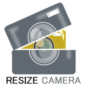 resize-camera-image reduction simple lite icon