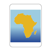 Blank Map, Africa icon