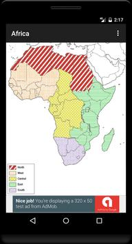 Blank Map, Africa screenshot 3