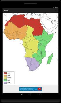 Blank Map, Africa apk screenshot
