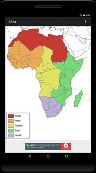 Blank Map, Africa screenshot 8