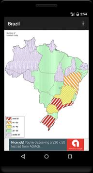 Blank Map, Brazil screenshot 3