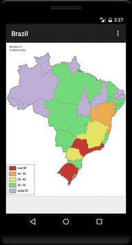 Blank Map, Brazil screenshot 1