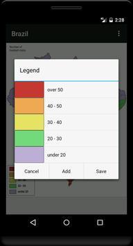 Blank Map, Brazil screenshot 5