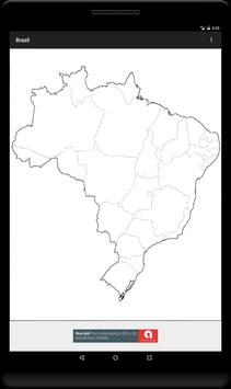 Blank Map, Brazil screenshot 6