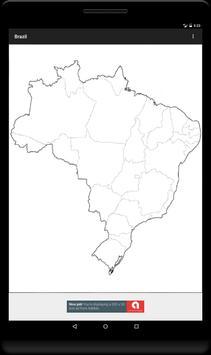 Blank Map, Brazil screenshot 6