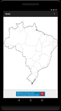 Blank Map, Brazil screenshot 8