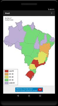 Blank Map, Brazil screenshot 9