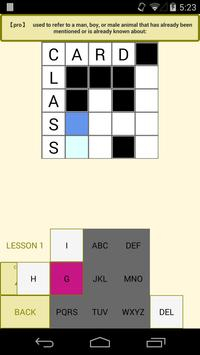 Easy English Crossword Puzzle Apk Screenshot