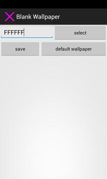 Blank Wallpaper screenshot 2