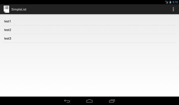 シンプルリスト screenshot 3
