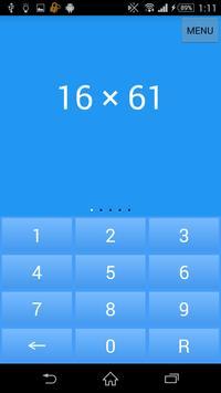 Mental Math apk screenshot