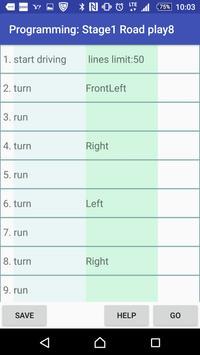 Programming Car RedNose Road screenshot 2