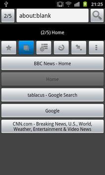 Tablacus Browser - Web browser apk screenshot