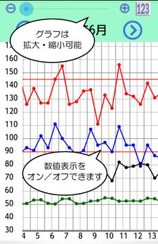 血圧のーと apk screenshot