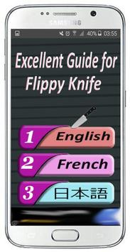 Tips/tricks flippy kniFe poster
