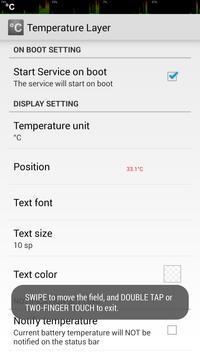 Temperature Layer apk screenshot