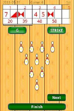 Touch de Score Bowling apk screenshot