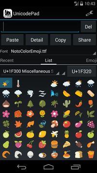 Unicode Pad imagem de tela 1