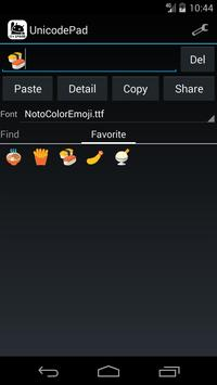 Unicode Pad imagem de tela 4